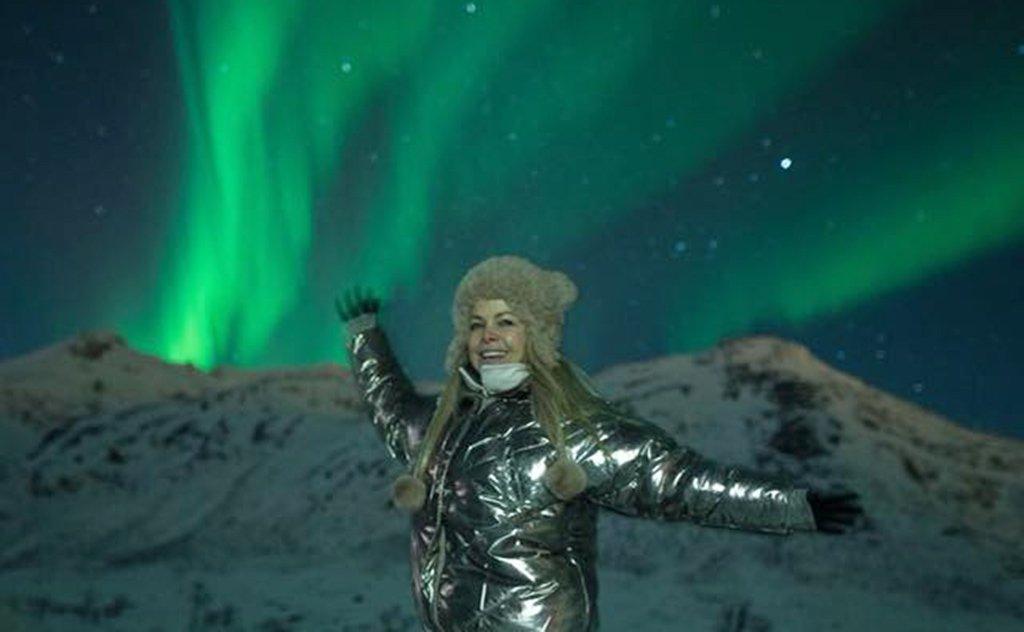Fisioterapeuta compartilha os detalhes de sua viagem rumo à Aurora Boreal