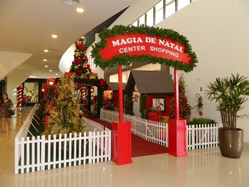 Vila Encantada do Papai Noel e Decoração de Natal aberta ao público