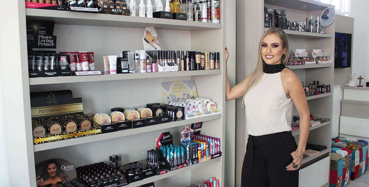 Primeira loja especializada em maquiagem traz novidades à cidade