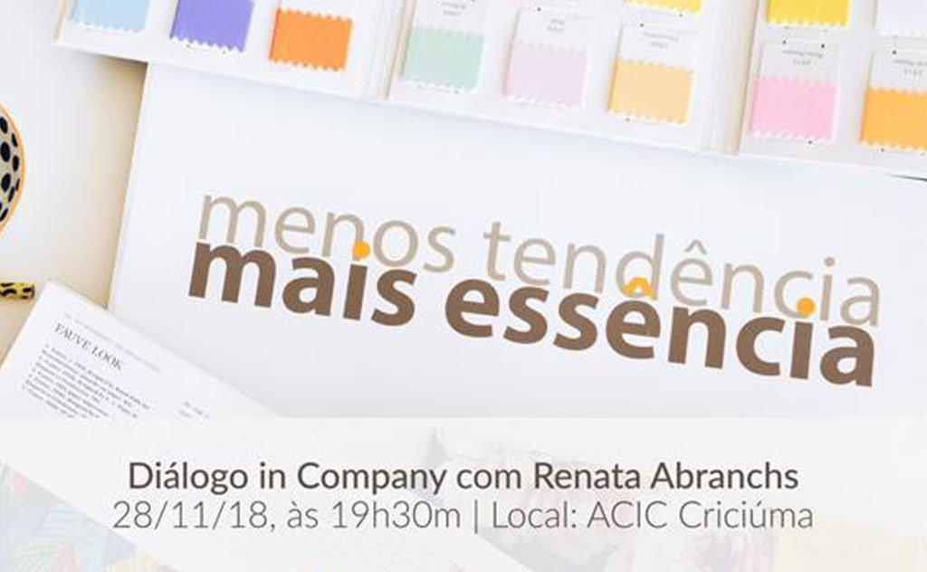 Evento gratuito será ministrado pela pesquisadora e consultora Renata Abranches
