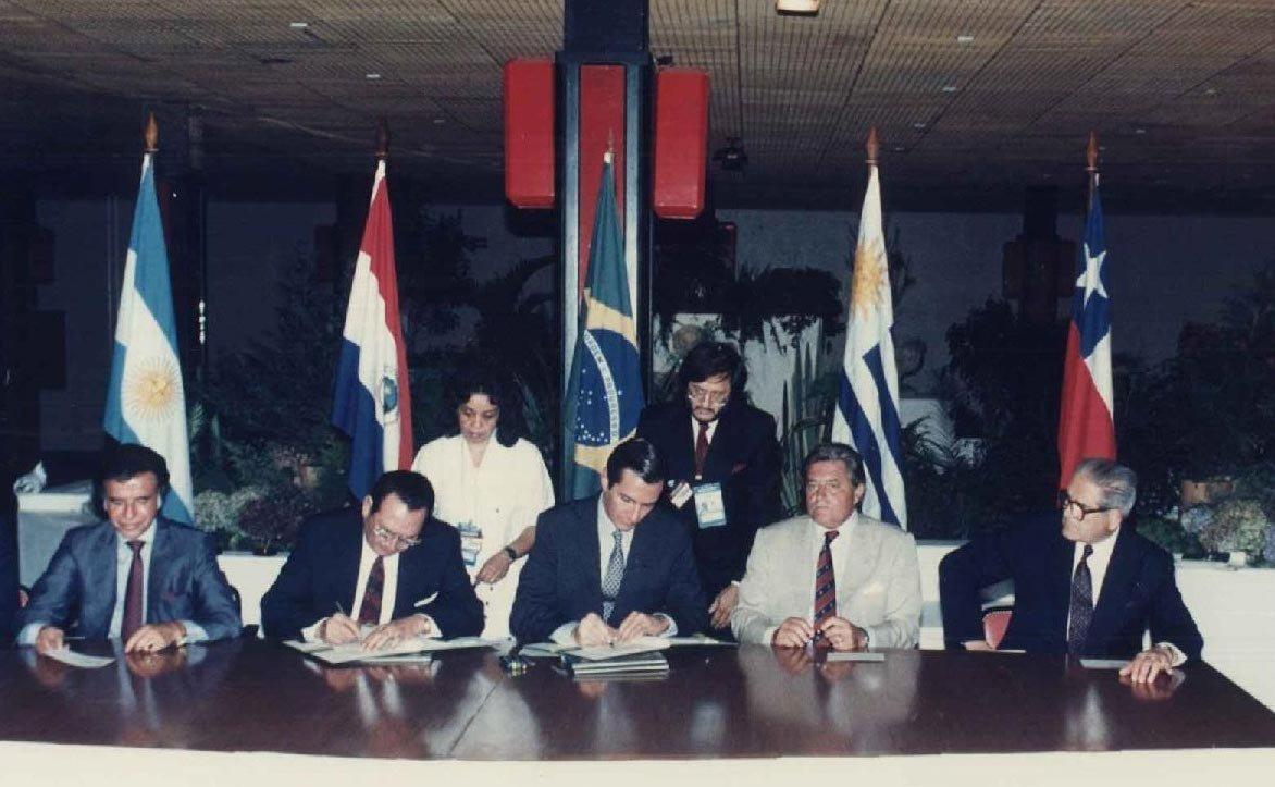 Na Serra Gaúcha, o local foi palco da assinatura do Tratado do Mercosul