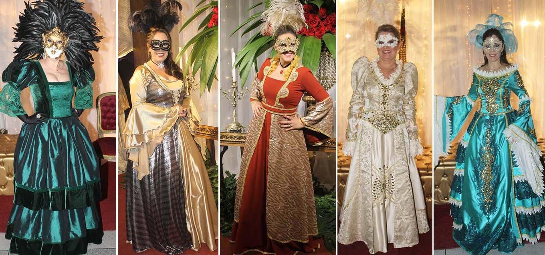 A riqueza de detalhes nas roupas que encantam o tradicional evento