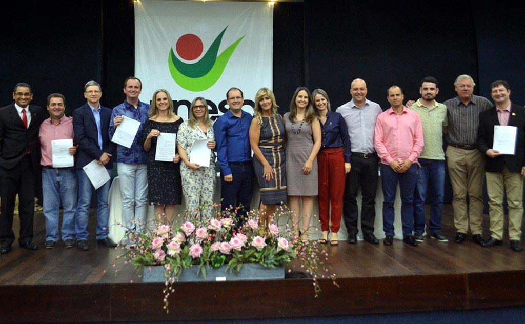 Solenidade reuniu colaboradores e lideranças regionais