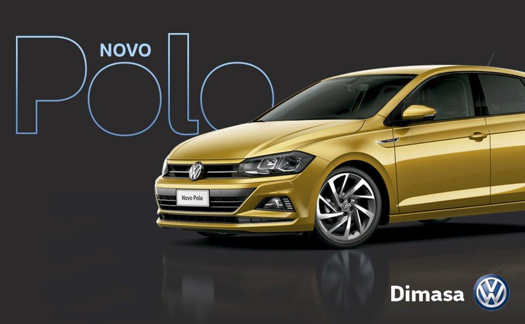 Dimasa Volkswagen Araranguá lança o novo Polo nesse sábado