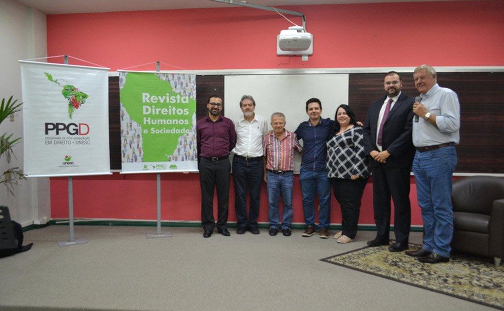 Evento de lançamento contou com a palestra de professor Gladstone Leonel da Silva Júnior