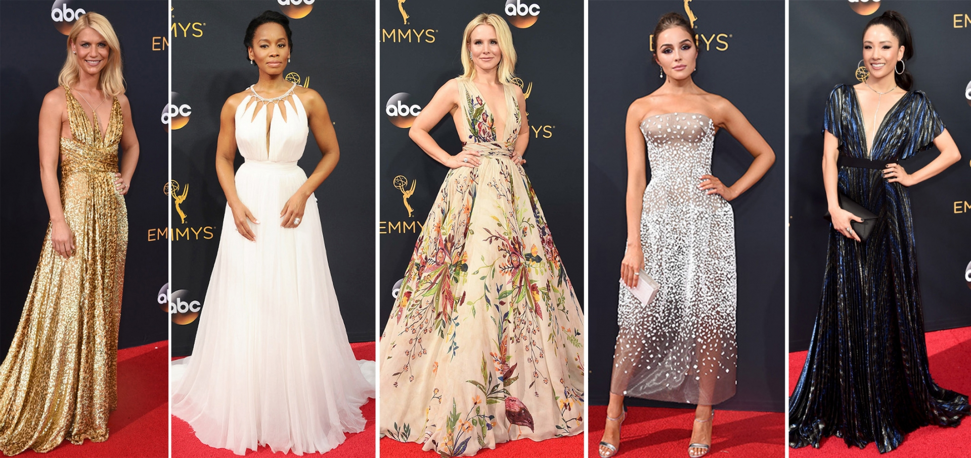 Red Carpet Emmy 2016: Vestidos que brilharam em LA