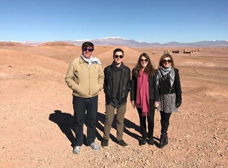 Férias e aventura  no destino exótico das terras árabes