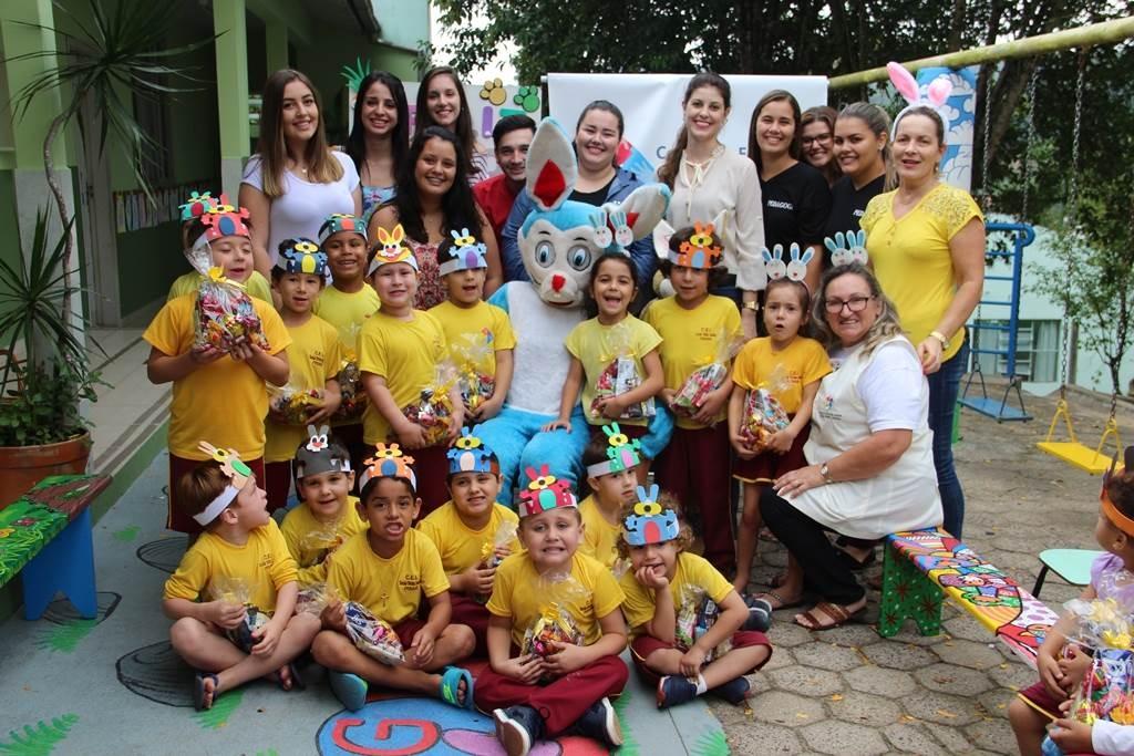 Acadêmicos da Unibave cria projeto solidário para crianças carentes