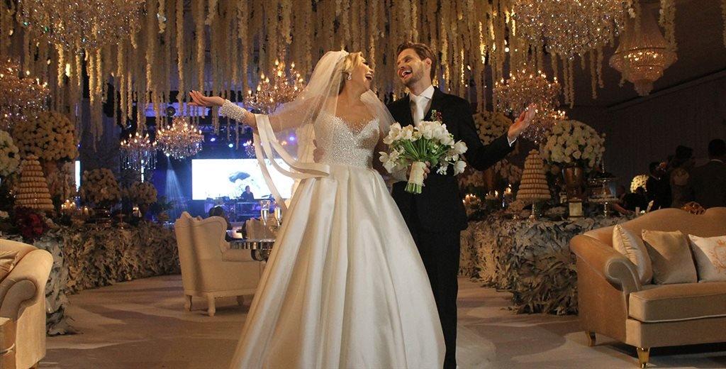 Riqueza de detalhes marca o wedding do ano em Criciúma