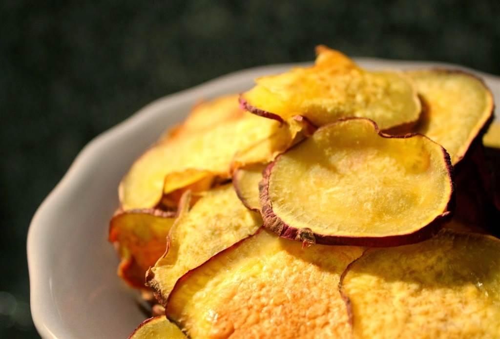 Uma opção saudável, deliciosa e crocantes de chips