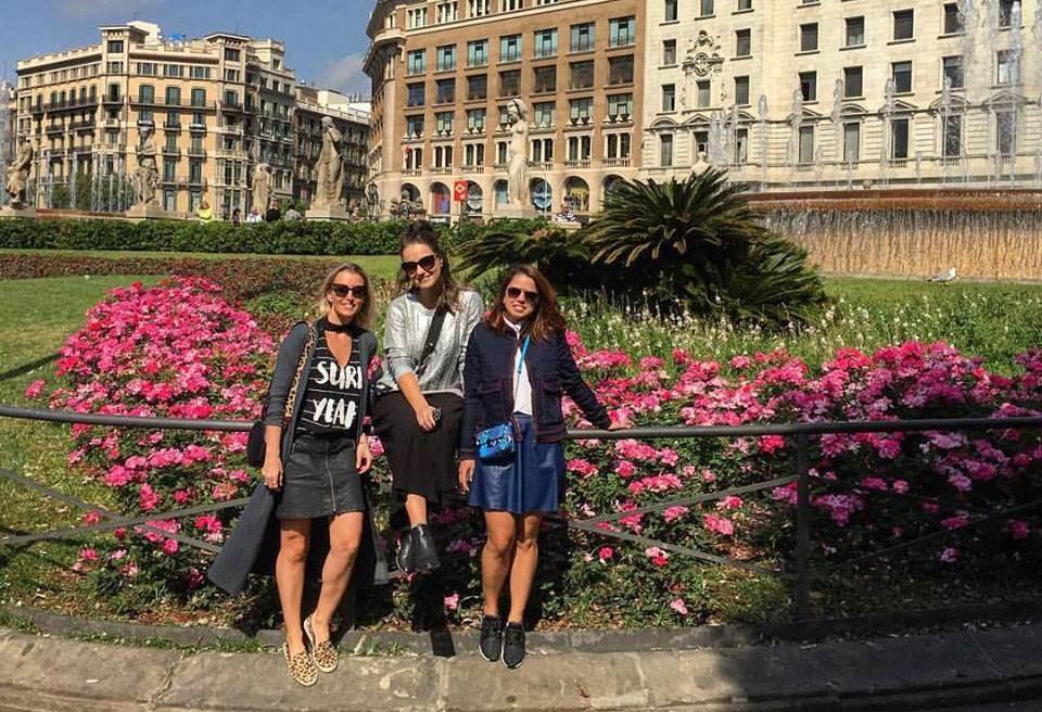 Pontos do roteiro? Amsterdam, Londres e Barcelona!