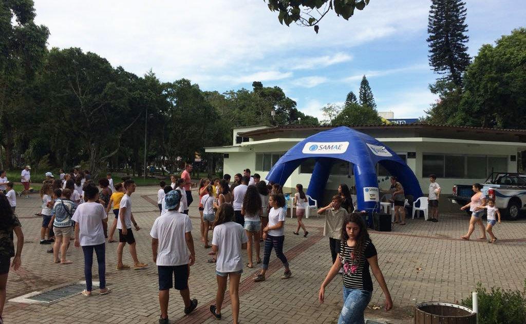 Evento reuniu estudantes para a  conscientização da importância da água