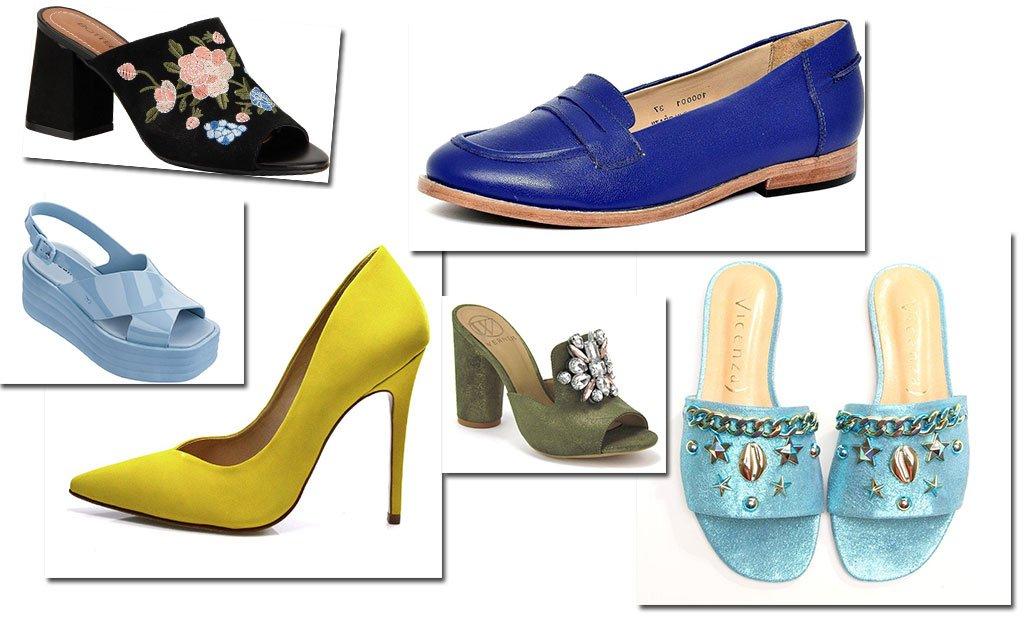 A participação de marcas brasileiras se dá por meio do projeto Brazilian Footwear