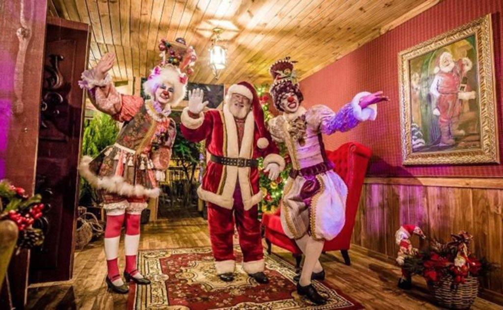 A tradicional chegada do Bom Velhinho ocorre no dia 18 de novembro