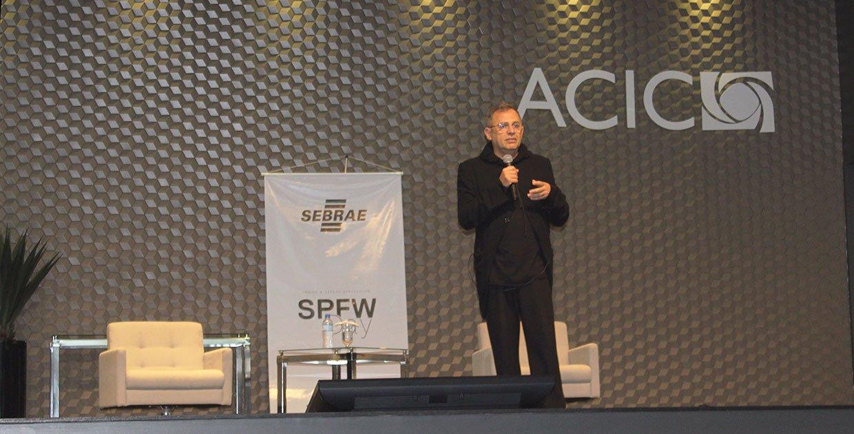 Paulo Borges esteve em Criciúma, na noite desta quinta-feira, para o SPFWDay