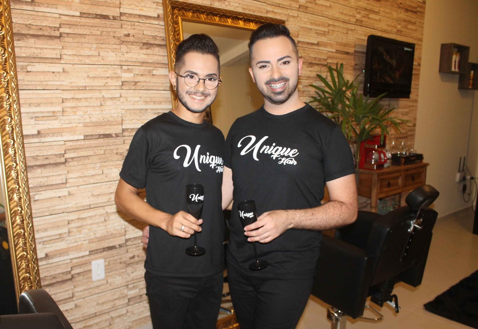 Hair Stylists inauguraram salão de beleza Unique Hair, em Araranguá