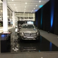 Mercedes Benz no Nações Shopping