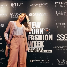 Araranguaense desfila no New York Fashion Week