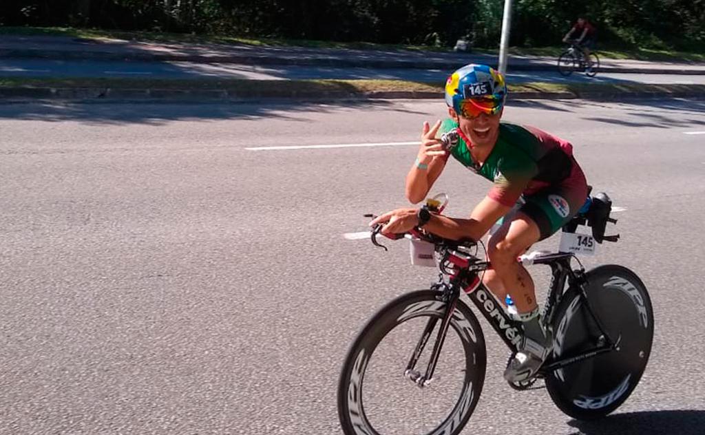 O primeiro araranguaense a participar do Ironman, conquistou o melhor resultado  do Sul de SC