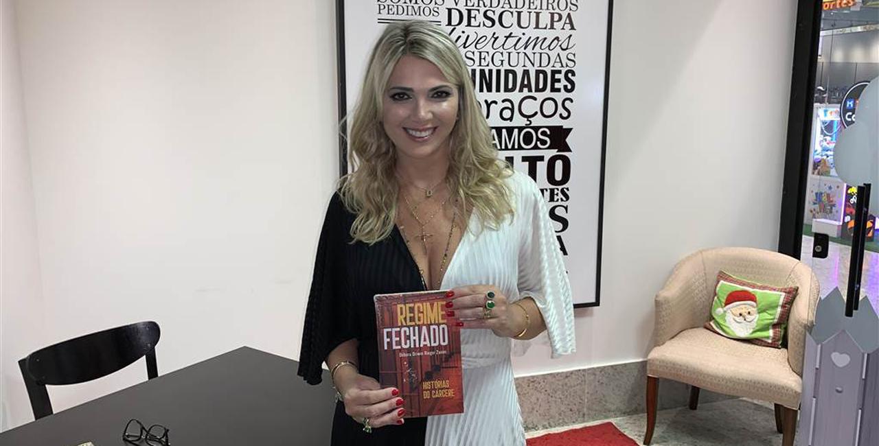 Autora estrela lançamento do livro Regime Fechado
