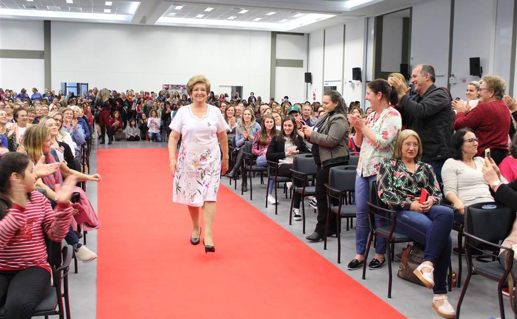 Cidade de Turvo recebeu mais de 600 mulheres no evento