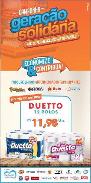 Banner Geração Solidaria Dueto