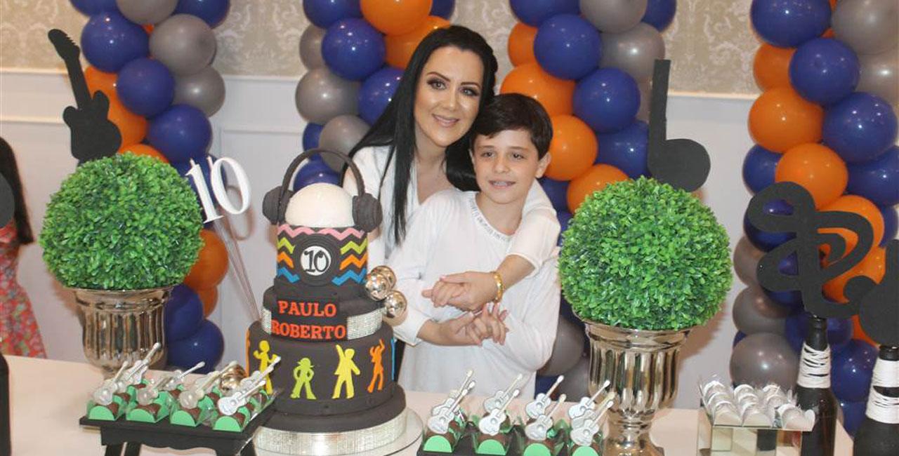 Festa surpresa em Meleiro, marca aniversário de 10 anos do garoto