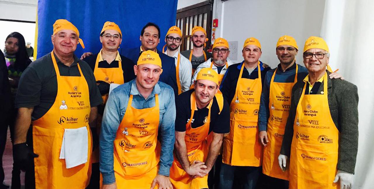 Evento gastronômico  beneficente reúne empresários em prol do bem em Araranguá