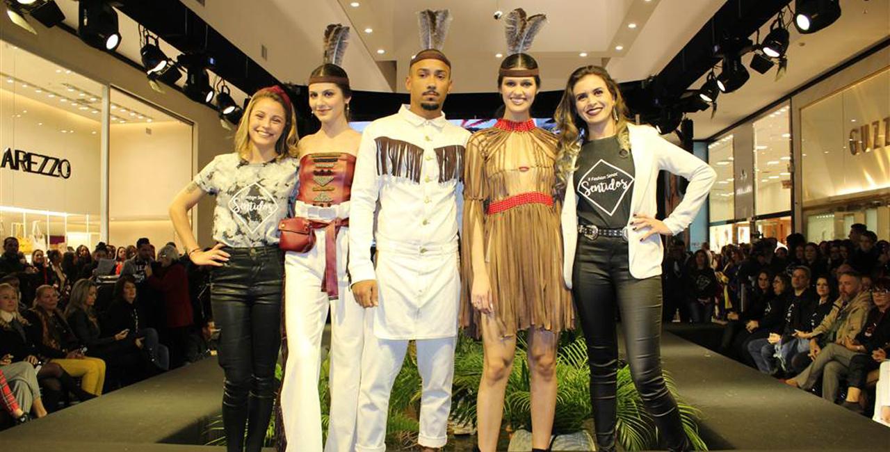 O evento contou com a presença do estilista Alexandre Herchcovitch