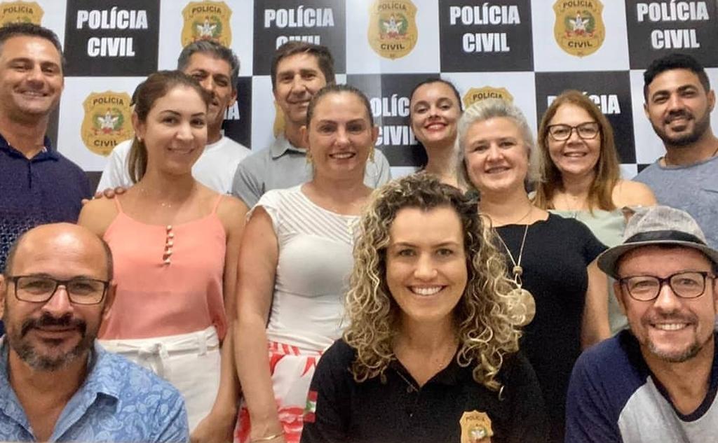 Policiais Civis, tem Treinamento em Comunicação Aplicada