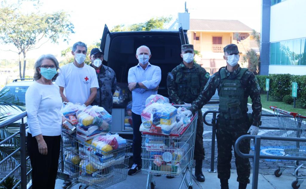 Ajuda para as pessoas desamparadas durante a crise consequente do coronavírus