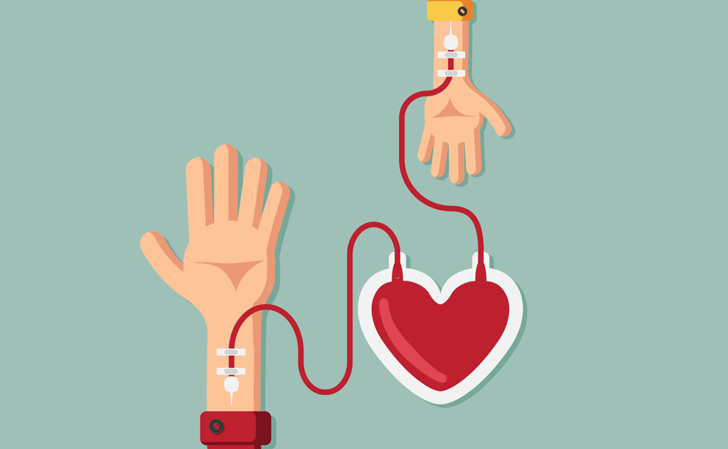 A necessidade de restabelecer os estoques de sangue nos hemocentros é contínua