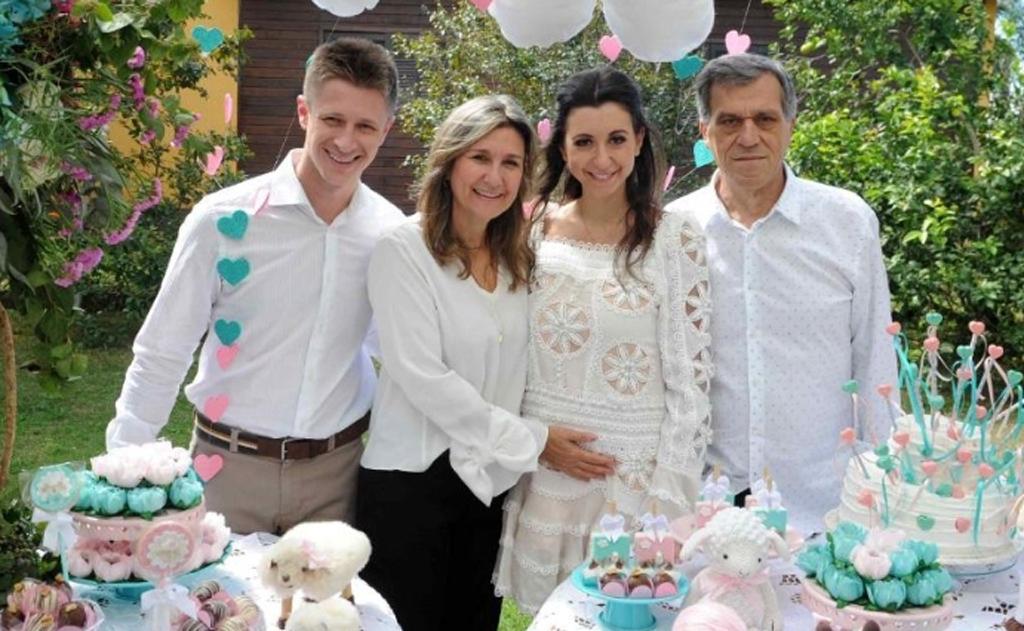 A família Pescador/Faust Fernandes faz festa azul e rosa
