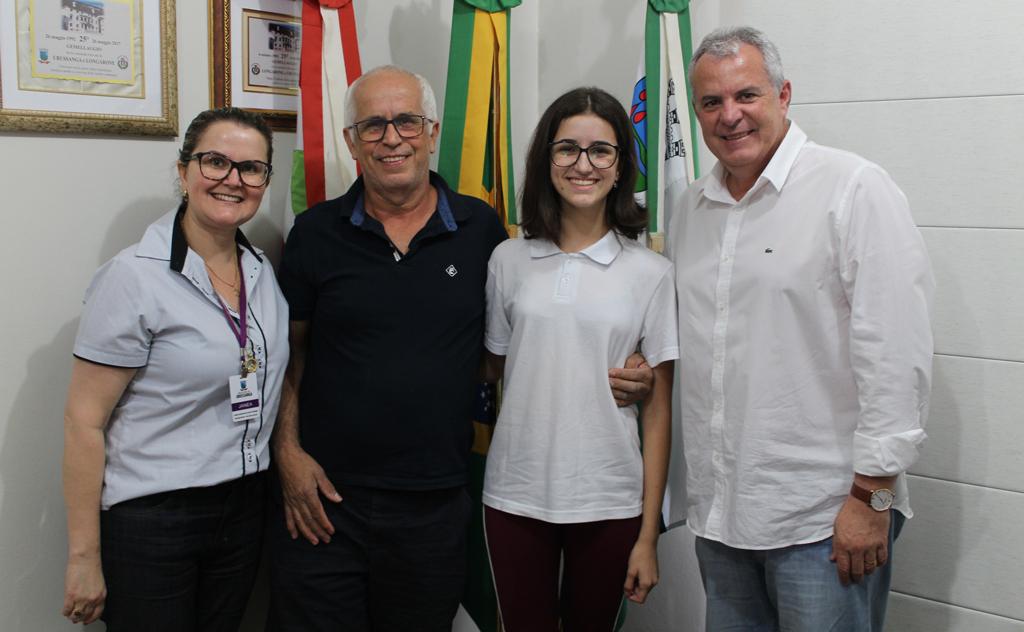 Aluna de Urussanga recebeu a 1ª Medalha de Bronze do município na Olimpíada OBMEP 2019