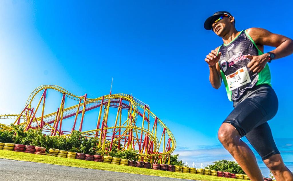 Atleta do conquista 4º lugar geral no maior parque temático da América Latina