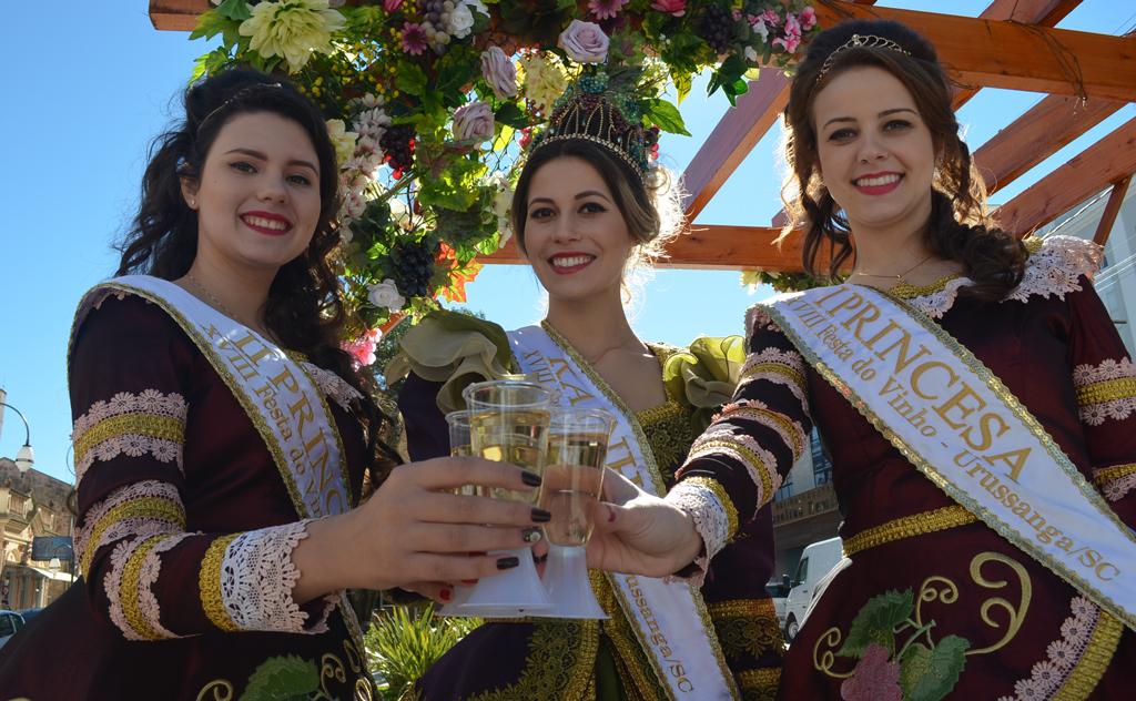 O tradicional evento em Urussanga, homenageia a cultura italiana