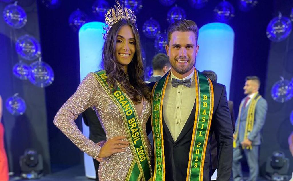 A grande vencedora foi a representante da Paraíba, Lala Guedes