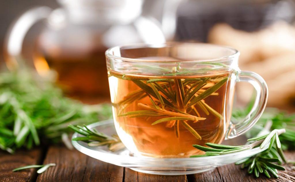 O chá de alecrim melhora a imunidade a fim de prevenir doenças e ajuda a emagrecer