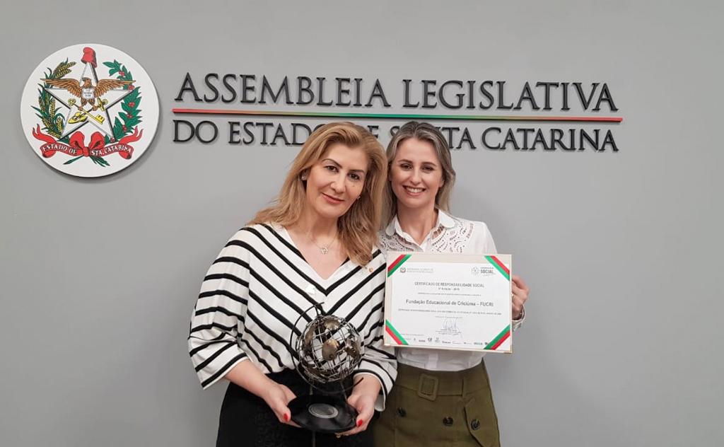 Premiação foi realizada em evento de Certificação de Responsabilidade Social