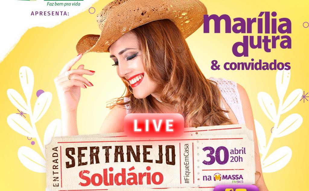 Ação ocorrerá com a participação da cantora Marília Dutra e convidados