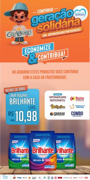 Banner Geração Solidaria Brilhante