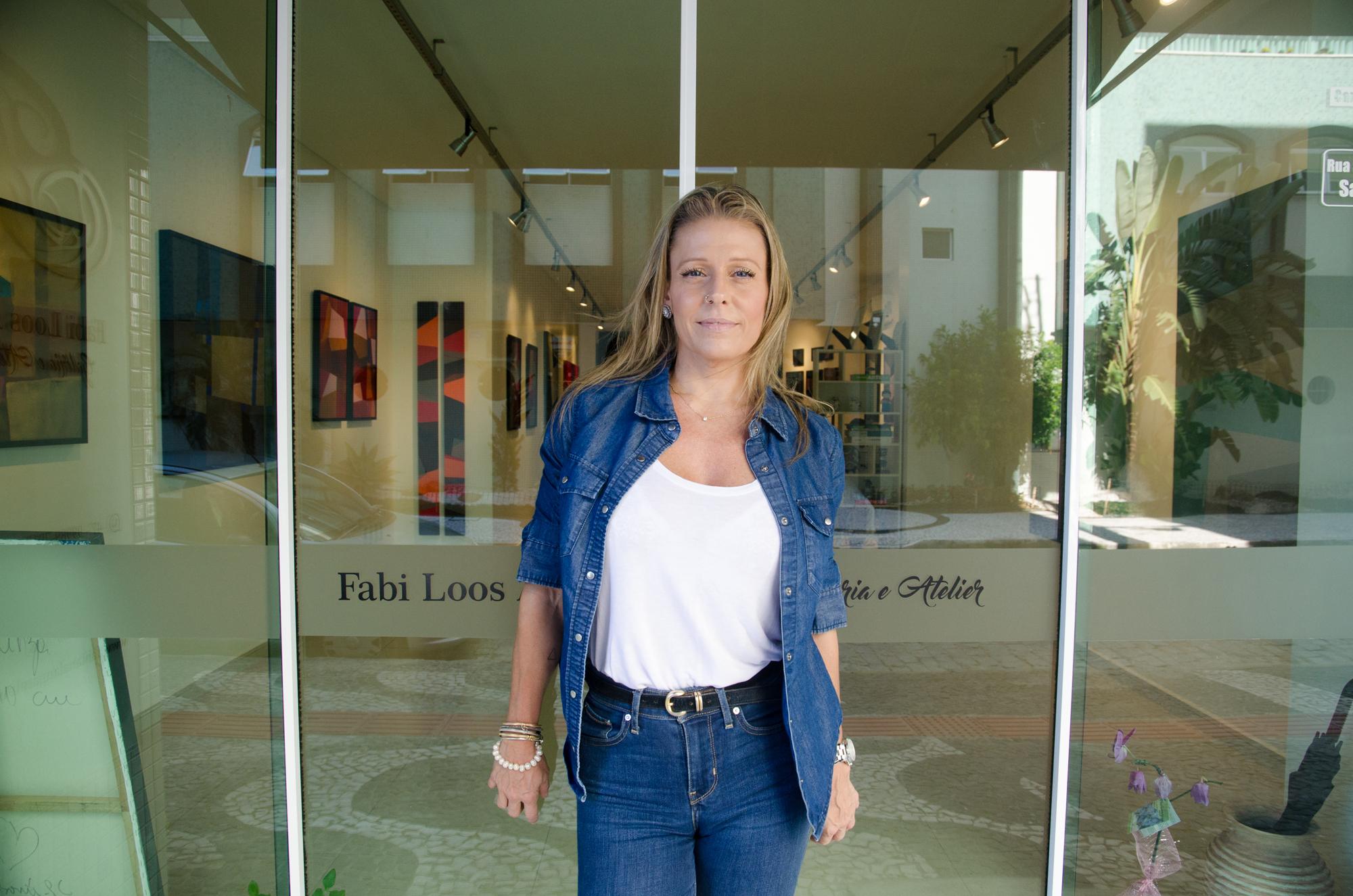 São Paulo recebe mais uma vez a artista plástica de braços abertos