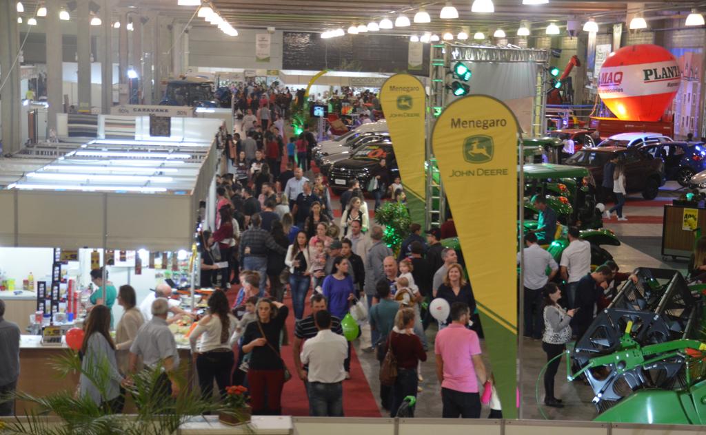 AgroPonte 2019 abrange mais de 250 expositores em Criciúma