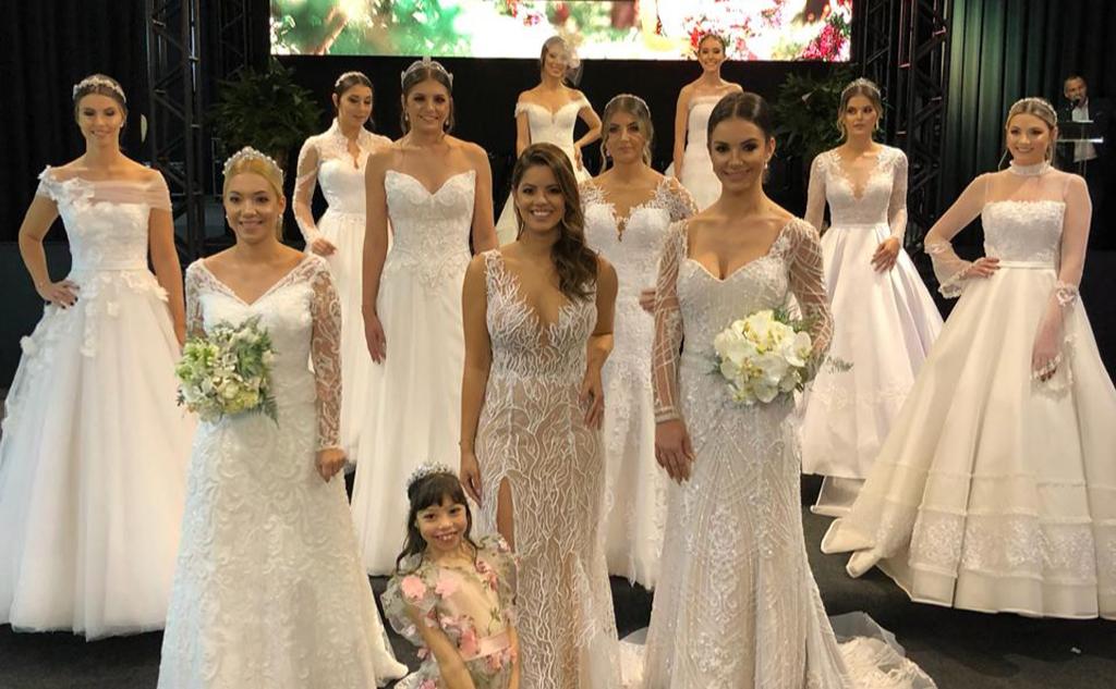 A beleza incontestável da Feira Bride and flowers 2019 em Criciúma