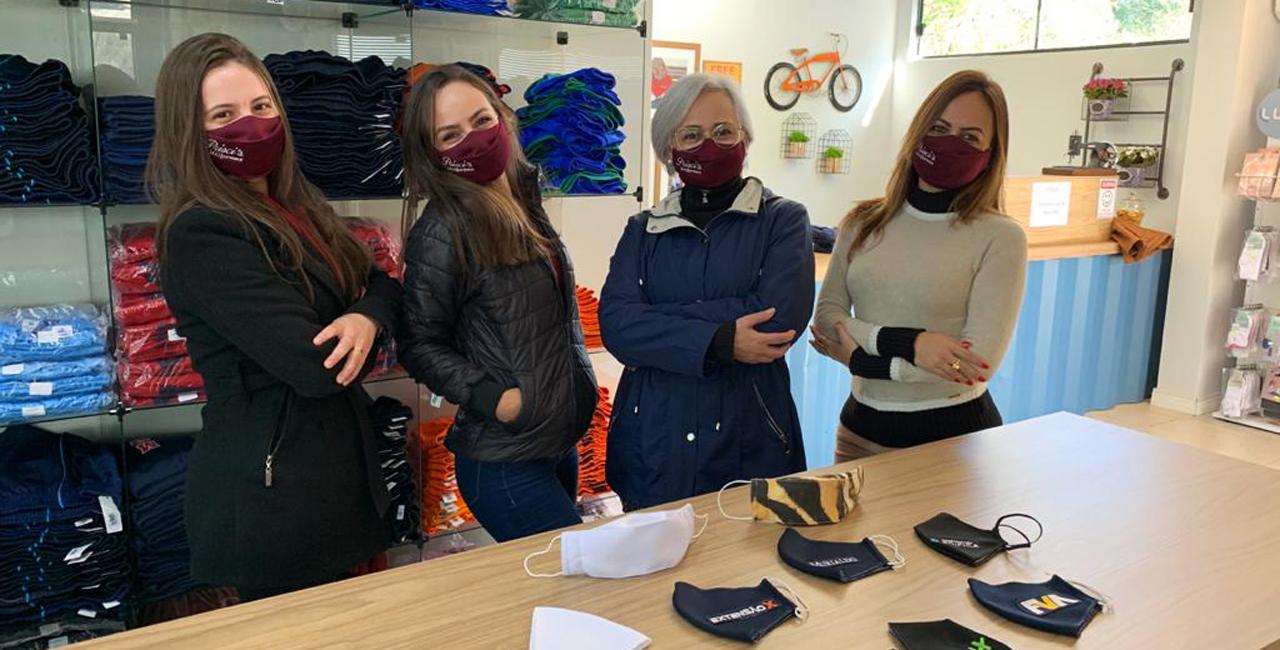 Prisci's Confecções, especializada em uniformes cria linha de máscaras personalizadas