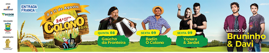 Banner Festa do Colono