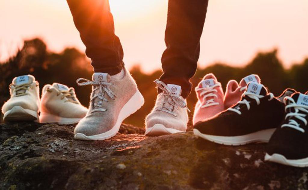 Empresa francesa Ubac cria calçados com roupas velhas