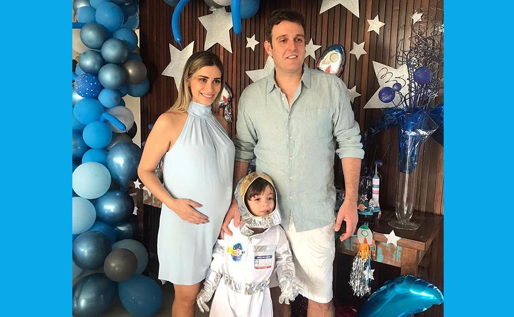 Antonio aproveitou seu dia especial com a família, no Balneário Rincão