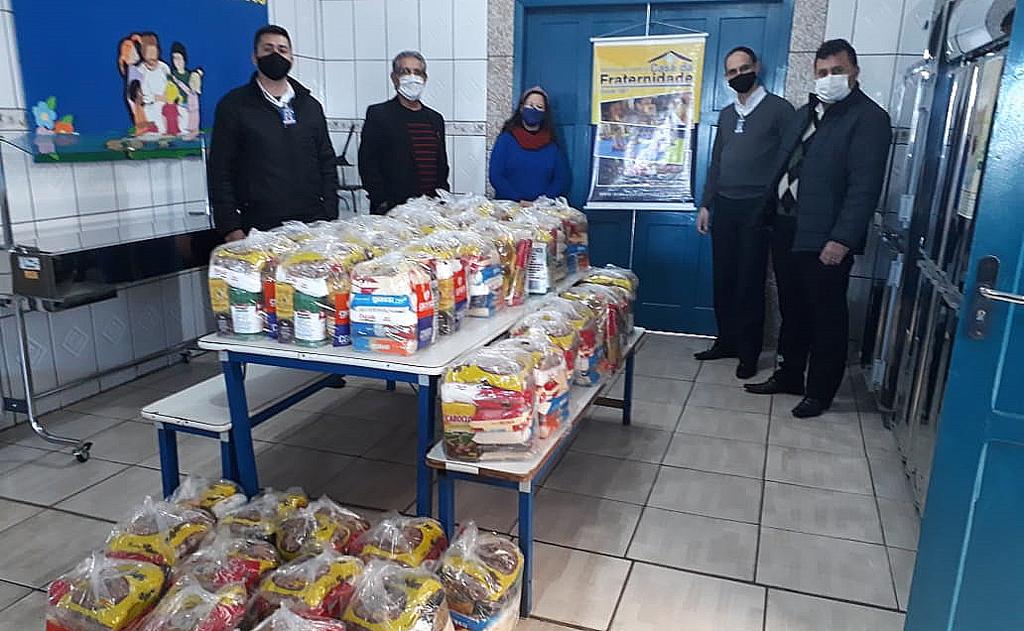Ação da Rotary Clube e Combo Atacadista é importante para contribuir no atendimento assistencial