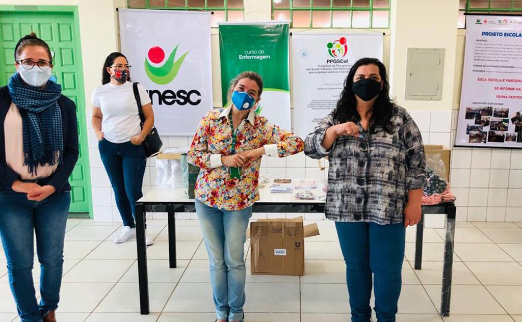 Escolas Padre Carlos Wecki, Professora Lili Coelho e José Contim Portella foram beneficiadas